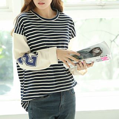 CLICK - Cotton Stripe T-Shirt