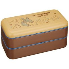 Skater - My Neighbor Totoro Simple Lunch Box (Brown)