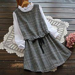 YOYO - 仿兩件連衣裙