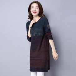 Romantica - Lettering Knit Dress