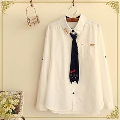 Fairyland - Cat Tie Shirt