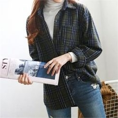 PIPPIN - Pocket-Front Plaid Shirt