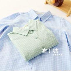 Bonbon - Check Long-Sleeve Shirt