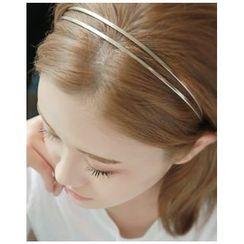 Miss21 Korea - Dual-Strand Slim Head Band