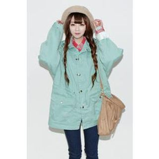 VANILLA SECOND - Drawstring-Waist Parka