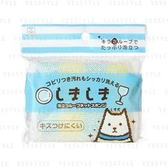 小久保 - Stripe Kitchen Sponge (Square) (Random Color)