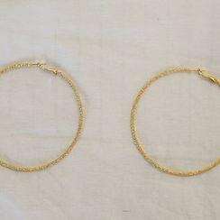 NANING9 - Metal Ring Earrings