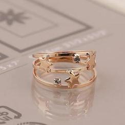 Love Generation - Star Layered Ring