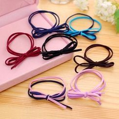 Seoul Young - Bow-Accent Hair Tie