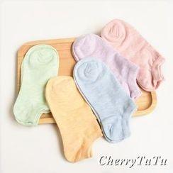 CherryTuTu - Plain Low Socks