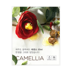 Nature Republic - Real Nature Seed Mask Sheet (Camellia) 1pc