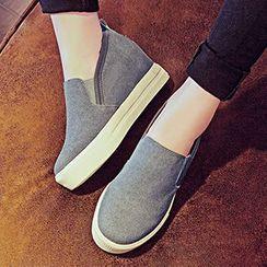 YIYA - Hidden Wedge Slip-Ons