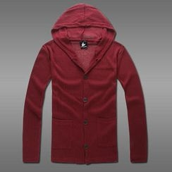 MR.PARK - Hooded Cardigan