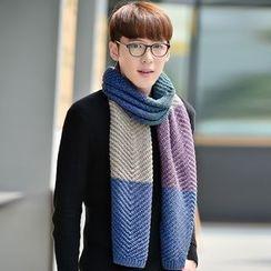 Amandier - 插色围巾