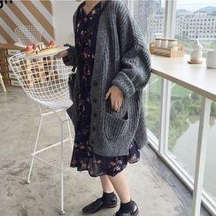 monroll - 粗织针织开衫