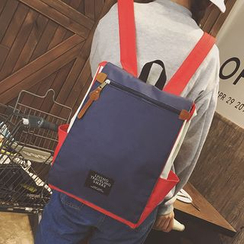 Clair Fashion - Color-Block Backpack