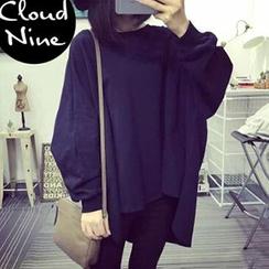Cloud Nine - Dolman-Sleeve Oversized Pullover