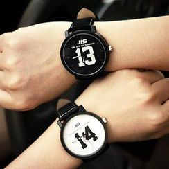 InShop Watches - Lettering Strap Watch