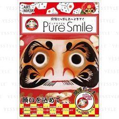 Sun Smile - Pure Smile Nippon Art Mask (Kaiunn Daruma)