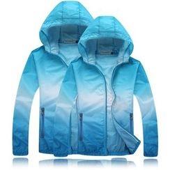 Keerme - Hooded Zip Light Jacket
