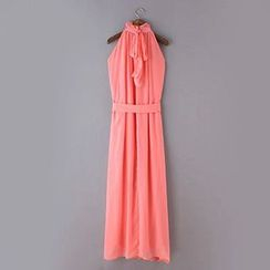 Neeya - Halter Chiffon Dress
