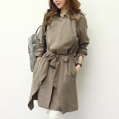 NANING9 - Wrapped Trench Coat