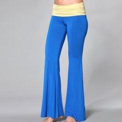 Almaz.C Active - Contrast-Waistline Yoga Pants
