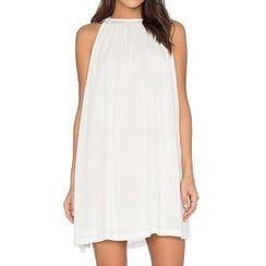Eloqueen - Sleeveless Chiffon Dress