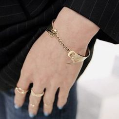 Ticoo - Chained Bangle