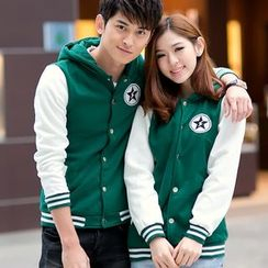 Lovebirds - Couple Hooded Jacket