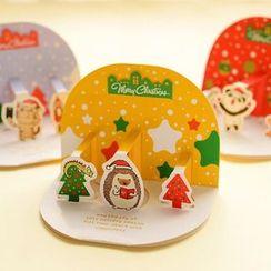 Show Home - 套装:动物圣诞贺卡