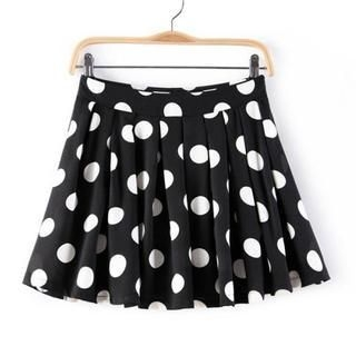 JVL - Pleated Dotted Skirt