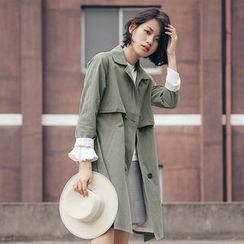 Dimosqisi - Loose-Fit Trench Coat