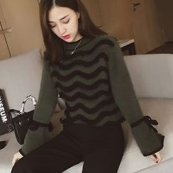 Cocofield - Striped Thick Sweater