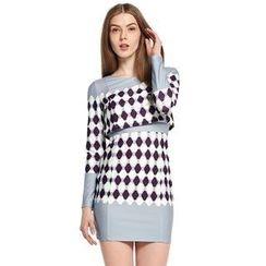 O.SA - Argyle Dress