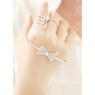 kitsch island - Ribbon Charm Bracelet