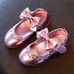 Luco - Kids Bow Mary Jane Flats