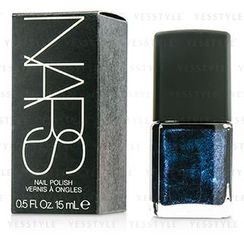 NARS - Nail Polish - #Night Flight (Black with cobalt blue pearls)