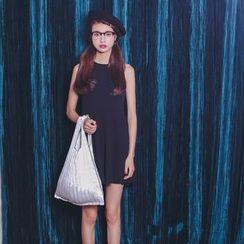 SUYISODA - Halter A-Line Dress