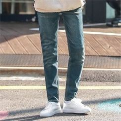 Superstar.i - Fleece-Lined Tapered Jeans