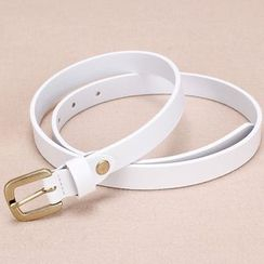 BAIEKU - Genuine Leather Slim Belt