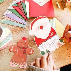 OH.LEELY - Christmas Greeting Card Set