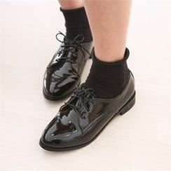 JVLLY - Patent Loafers