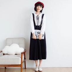 Forest Girl - Detachable Suspender Skirt