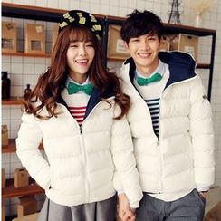 Sienne - Couple Matching Hooded Padded Jacket