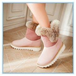 Pastel Pairs - Short Snow Boots