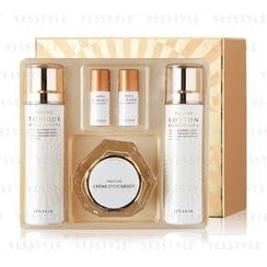 It's skin - Prestige D'escargot Special Set: Cream 60ml + Toner (140ml + 15ml) + Lotion (140ml + 15ml) + Cotton Pad
