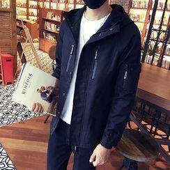 Mitouomo - Hooded Zip Jacket