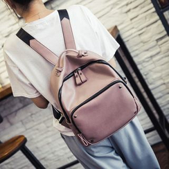 Rosanna Bags - Studded Faux-Leather Backpack
