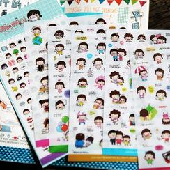 Neverland - Printed Sticker Set (6Sheets)